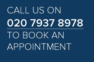 Call us on 020 7937 8978 to book an appointment